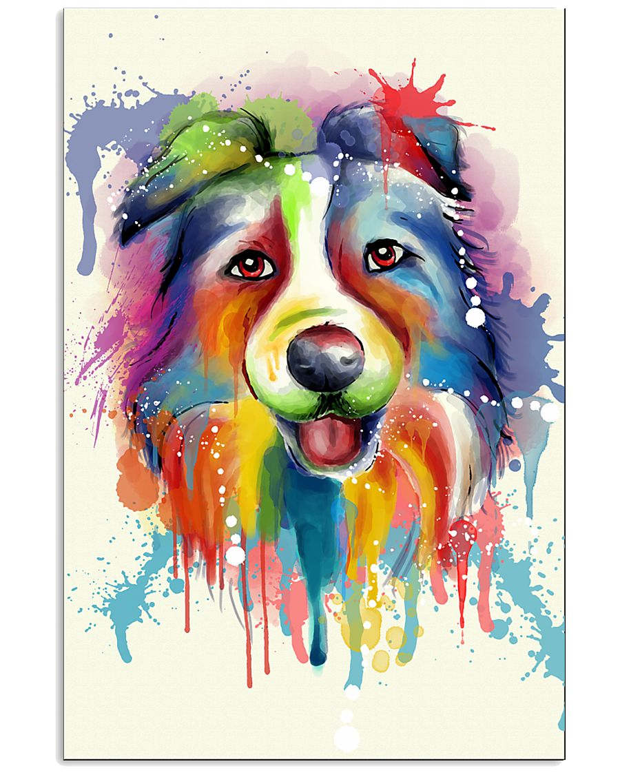 Border Collie Poster Flow 11x17 Poster