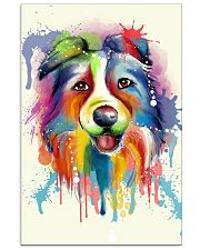 Border Collie Poster Flow 11x17 Poster front
