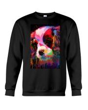 Cavalier Water Color Crewneck Sweatshirt thumbnail