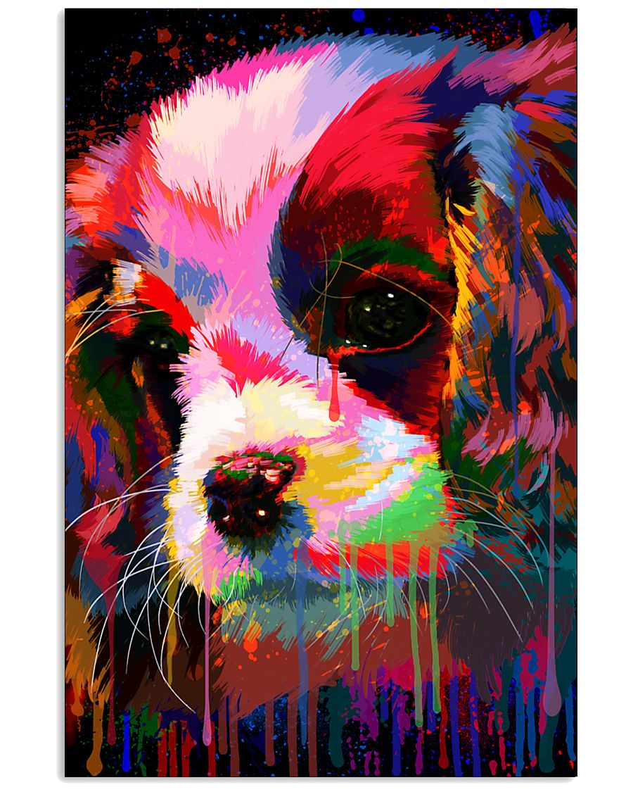 Cavalier Water Color 16x24 Poster