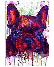 French bulldog Water Color Art Flow G10 11x17 Poster front
