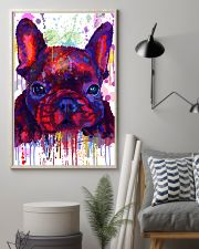 French bulldog Water Color Art Flow G10 11x17 Poster lifestyle-poster-1