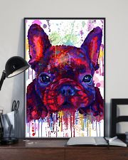 French bulldog Water Color Art Flow G10 11x17 Poster lifestyle-poster-2