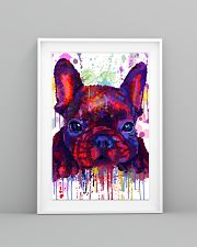 French bulldog Water Color Art Flow G10 11x17 Poster lifestyle-poster-5