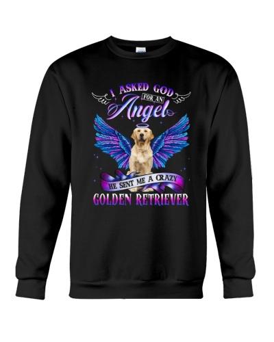 Golden I asked God for an Angel