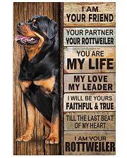 Rottweiler Partner 11x17 Poster thumbnail