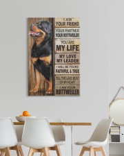 Rottweiler Partner 20x30 Gallery Wrapped Canvas Prints aos-canvas-pgw-20x30-lifestyle-front-05