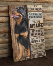 Rottweiler Partner 20x30 Gallery Wrapped Canvas Prints aos-canvas-pgw-20x30-lifestyle-front-19