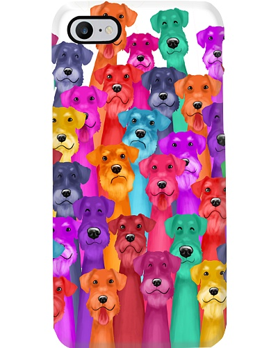 Schnauzer Phone Case Multi