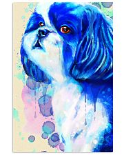 SHIH TZU COLORFUL SAD EYES POSTER 11x17 Poster front