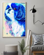 SHIH TZU COLORFUL SAD EYES POSTER 11x17 Poster lifestyle-poster-1