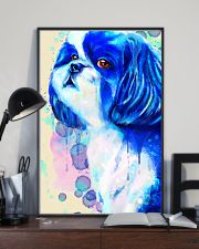 SHIH TZU COLORFUL SAD EYES POSTER 11x17 Poster lifestyle-poster-2