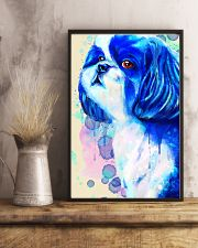SHIH TZU COLORFUL SAD EYES POSTER 11x17 Poster lifestyle-poster-3