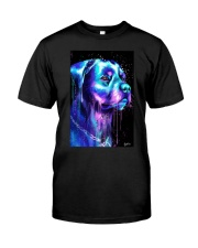 Rottweiler Water color Classic T-Shirt thumbnail