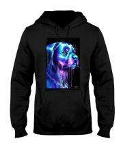 Rottweiler Water color Hooded Sweatshirt thumbnail