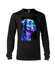 Rottweiler Water color Long Sleeve Tee thumbnail