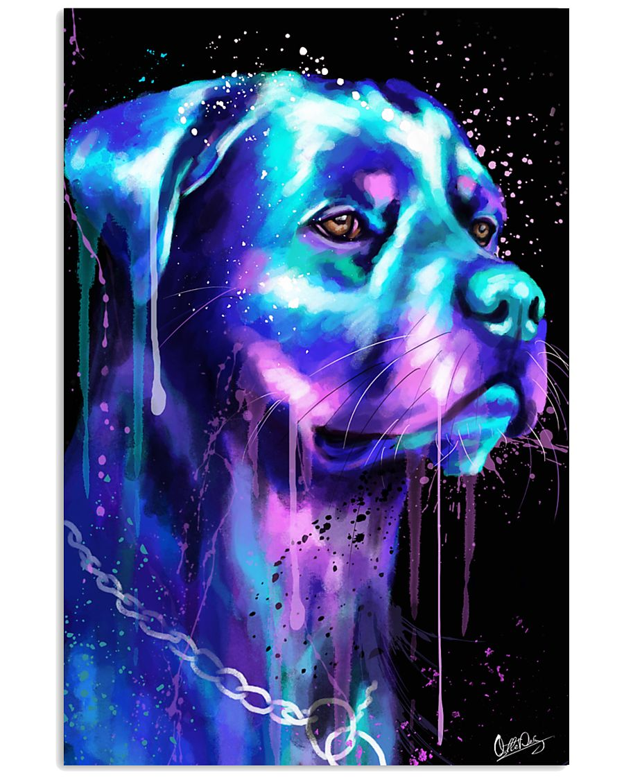Rottweiler Water color 24x36 Poster