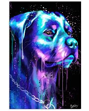 Rottweiler Water color 24x36 Poster front