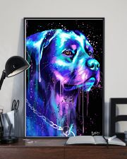 Rottweiler Water color 24x36 Poster lifestyle-poster-2