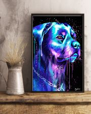 Rottweiler Water color 24x36 Poster lifestyle-poster-3