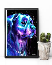 Rottweiler Water color 24x36 Poster lifestyle-poster-8
