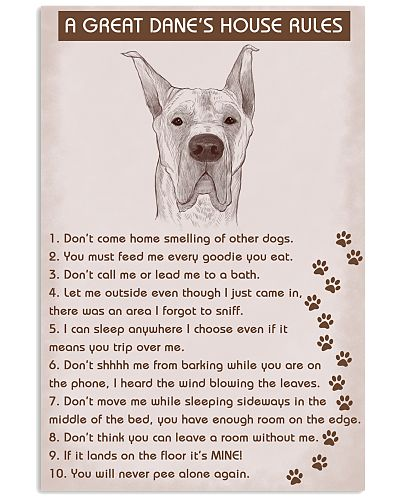 Great Dane House Rules