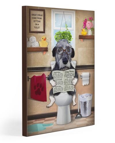 Irish Wolfhound Toilet