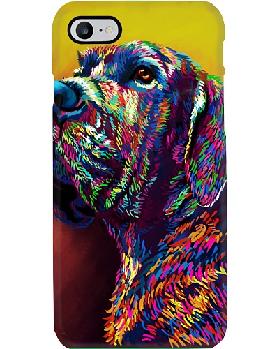 Great Dane Water Color Phone Case