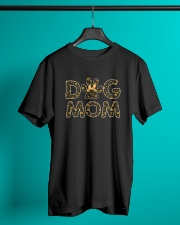 Dog Mom sunflower  Classic T-Shirt lifestyle-mens-crewneck-front-3