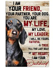 Dachshund My Life 16x24 Poster front