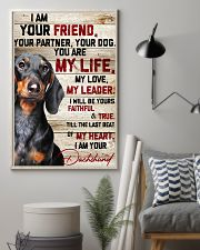 Dachshund My Life 16x24 Poster lifestyle-poster-1