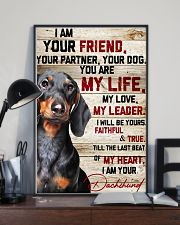 Dachshund My Life 16x24 Poster lifestyle-poster-2