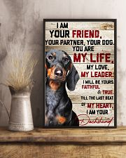 Dachshund My Life 16x24 Poster lifestyle-poster-3