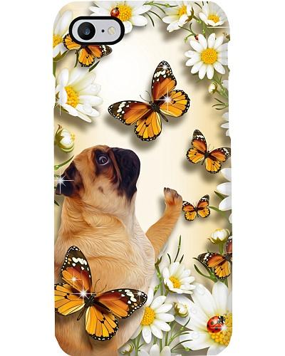 Pug Flower Butterfly
