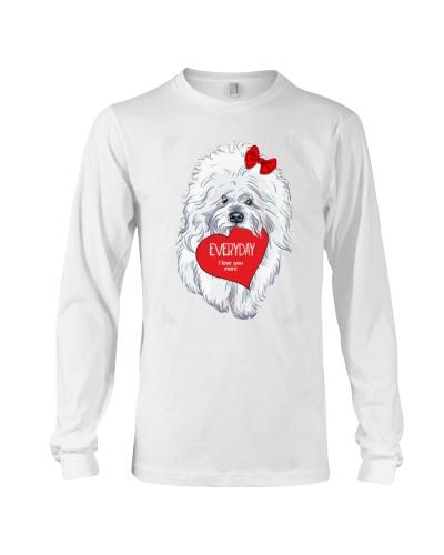 Bichon Frise Heart