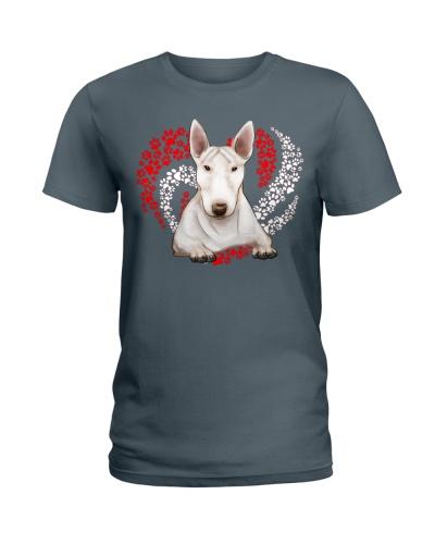 Bull Terrier Dog Heart