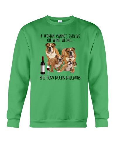 Bulldog cannot survive on wine alone