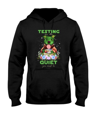 Pitbull testing we are quiet you must be