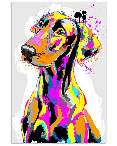 Doberman color paint