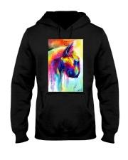 Bull Terrier Poster Water Color Art V11 Hooded Sweatshirt thumbnail