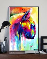Bull Terrier Poster Water Color Art V11 11x17 Poster lifestyle-poster-2