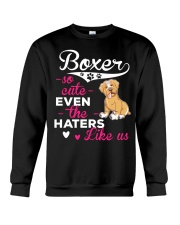 Boxer Hoodie So Cute Crewneck Sweatshirt thumbnail