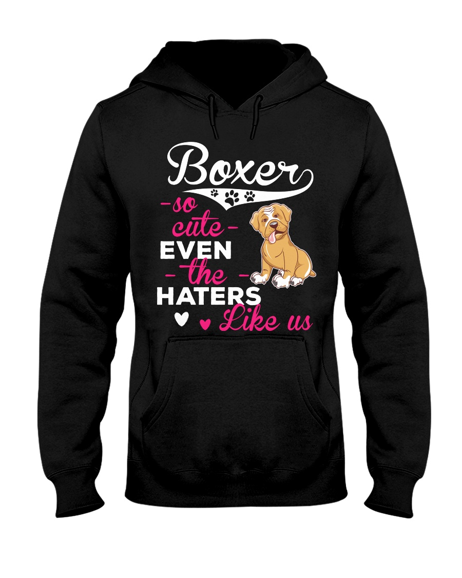Boxer Hoodie So Cute Hooded Sweatshirt
