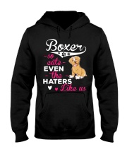 Boxer Hoodie So Cute Hooded Sweatshirt front