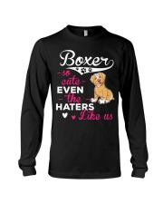 Boxer Hoodie So Cute Long Sleeve Tee thumbnail