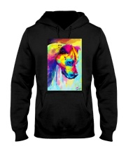 PITBULL COLORFUL POSTER Hooded Sweatshirt tile