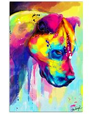 PITBULL COLORFUL POSTER 11x17 Poster front