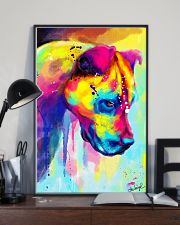 PITBULL COLORFUL POSTER 11x17 Poster lifestyle-poster-2