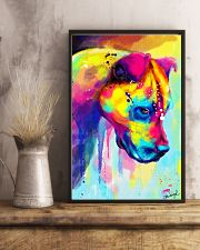 PITBULL COLORFUL POSTER 11x17 Poster lifestyle-poster-3
