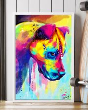 PITBULL COLORFUL POSTER 11x17 Poster lifestyle-poster-4